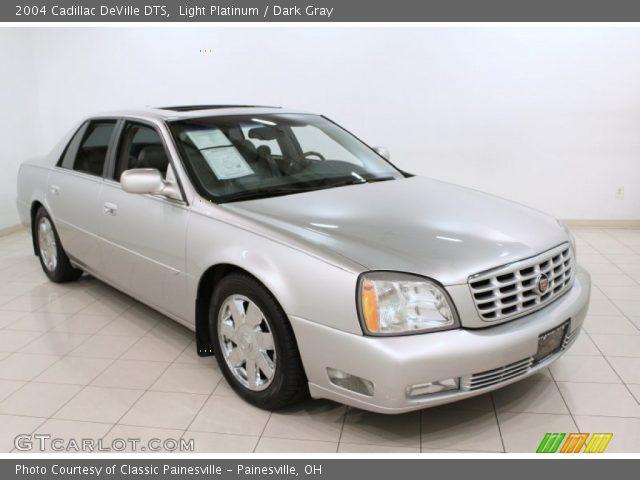 Light Platinum 2004 Cadillac Deville Dts Dark Gray Interior Vehicle Archive