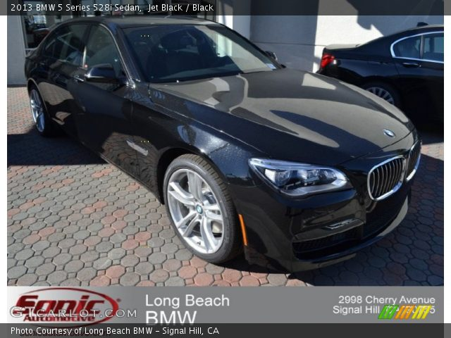 2013 BMW 5 Series 528i Sedan in Jet Black