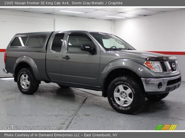 storm gray metallic 2005 nissan frontier se king cab 4x4. Black Bedroom Furniture Sets. Home Design Ideas