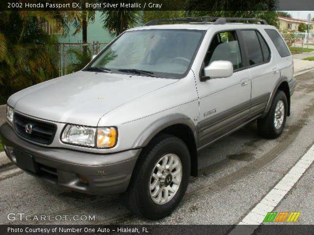 Bright Silver Metallic 2002 Honda Passport Ex Gray Interior Vehicle Archive