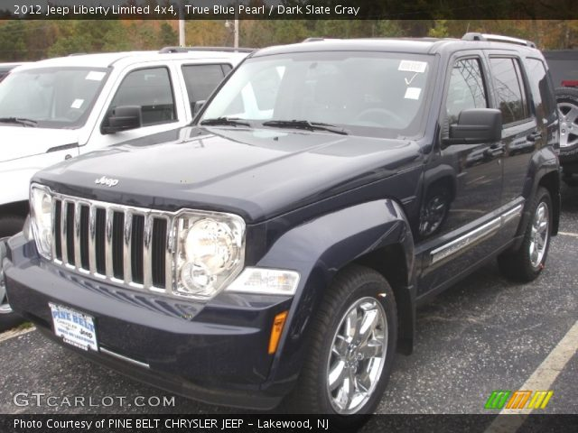 true blue pearl 2012 jeep liberty limited 4x4 dark. Black Bedroom Furniture Sets. Home Design Ideas