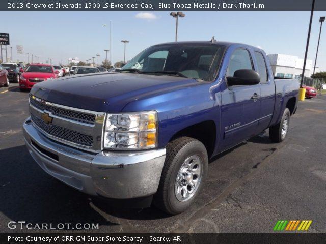 2013 Chevrolet Silverado 1500 LS Extended Cab in Blue Topaz Metallic