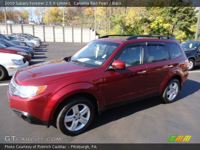 camellia red pearl 2009 subaru forester 2 5 x limited. Black Bedroom Furniture Sets. Home Design Ideas