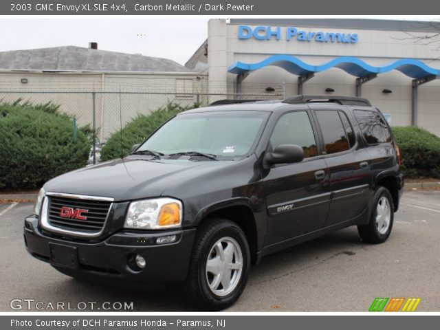 carbon metallic 2003 gmc envoy xl sle 4x4 dark pewter. Black Bedroom Furniture Sets. Home Design Ideas