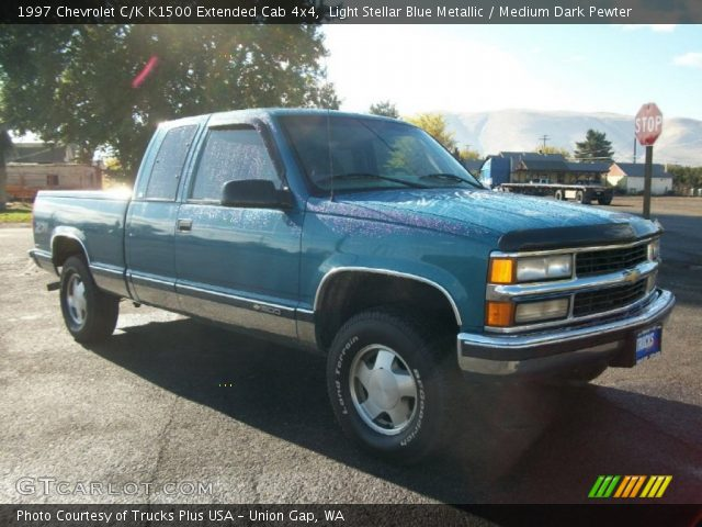 together with  furthermore  additionally  in addition . on green 1998 chevy k1500 extended cab pic