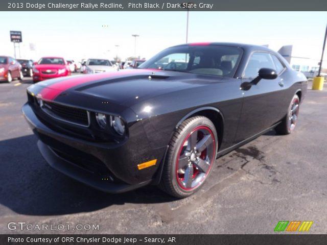 pitch black 2013 dodge challenger rallye redline dark slate gray interior. Black Bedroom Furniture Sets. Home Design Ideas