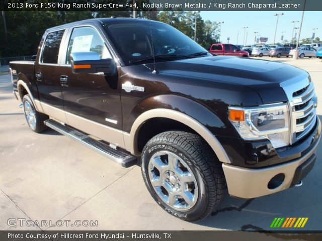 2013 Ford F150 King Ranch SuperCrew 4x4 in Kodiak Brown Metallic