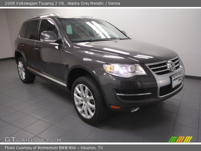 alaska grey metallic 2008 volkswagen touareg 2 v8. Black Bedroom Furniture Sets. Home Design Ideas