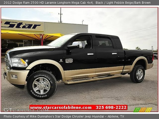 black 2012 dodge ram 2500 hd laramie longhorn mega cab. Black Bedroom Furniture Sets. Home Design Ideas