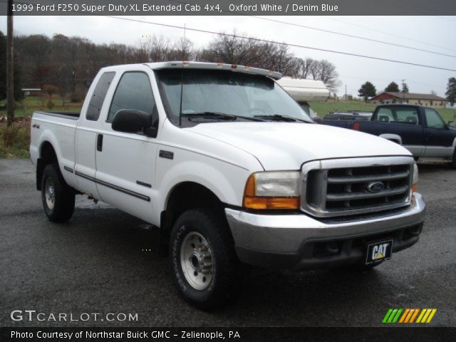 oxford white 1999 ford f250 super duty xl extended cab. Black Bedroom Furniture Sets. Home Design Ideas