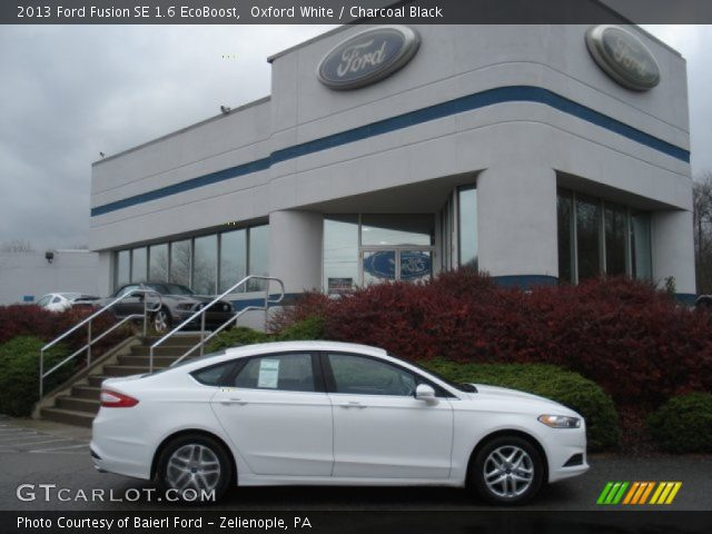 2013 Ford Fusion SE 1.6 EcoBoost in Oxford White