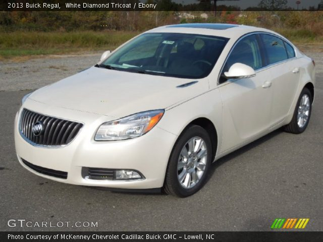 white diamond tricoat 2013 buick regal ebony interior