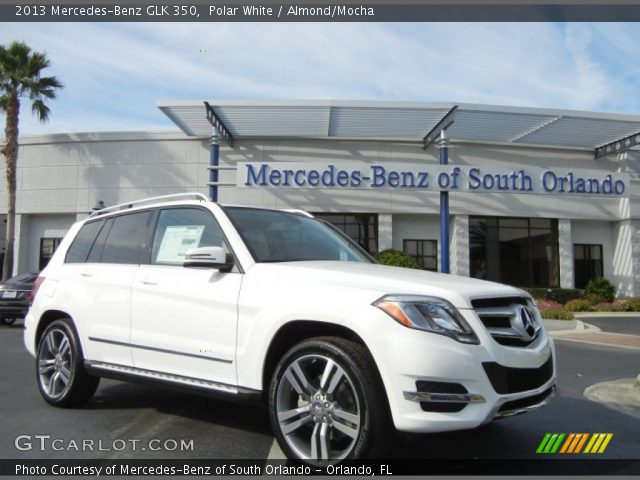 2013 Mercedes-Benz GLK 350 in Polar White