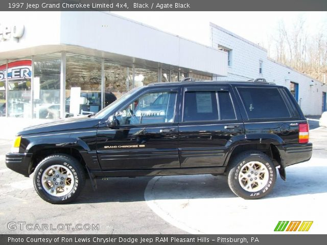 Black 1997 jeep grand cherokee limited 4x4 agate black - 1997 jeep grand cherokee interior ...