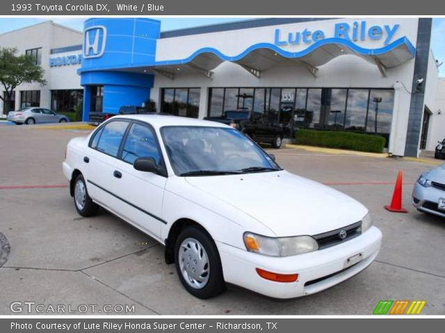 1993 Toyota Corolla DX in White