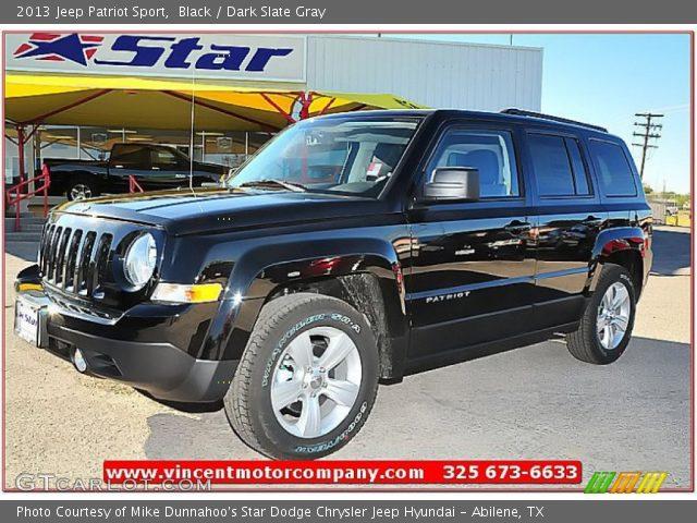 black 2013 jeep patriot sport dark slate gray interior vehicle archive. Black Bedroom Furniture Sets. Home Design Ideas