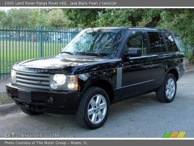 java black pearl 2005 land rover range rover hse sand jet interior vehicle. Black Bedroom Furniture Sets. Home Design Ideas