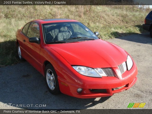 2003 Pontiac Sunfire  in Victory Red