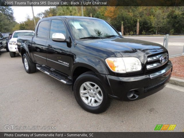 black 2005 toyota tundra sr5 double cab light charcoal interior vehicle. Black Bedroom Furniture Sets. Home Design Ideas