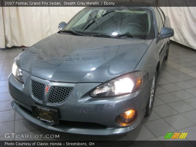 2007 Pontiac Grand Prix Sedan in Stealth Gray Metallic