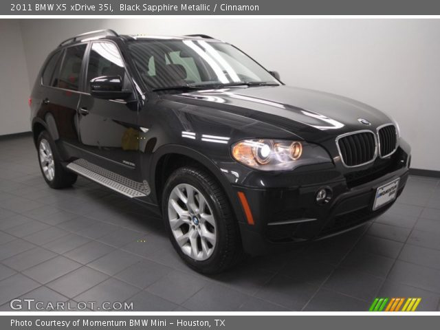 black sapphire metallic 2011 bmw x5 xdrive 35i cinnamon interior vehicle. Black Bedroom Furniture Sets. Home Design Ideas
