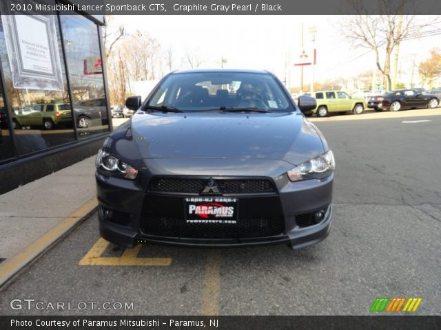 graphite gray pearl 2010 mitsubishi lancer sportback gts. Black Bedroom Furniture Sets. Home Design Ideas