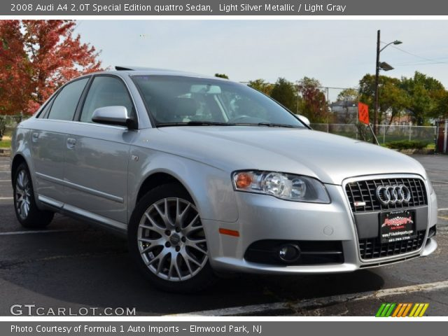 light silver metallic 2008 audi a4 2 0t special edition. Black Bedroom Furniture Sets. Home Design Ideas