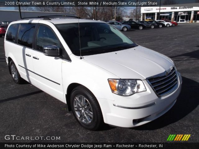 Stone white 2008 chrysler town country limited for Stone s town country motors