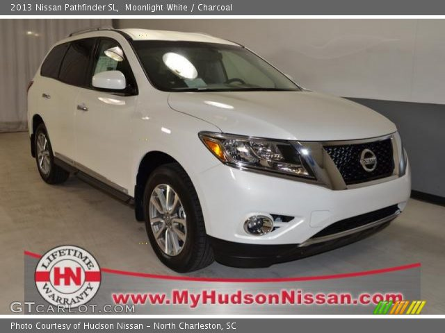 Moonlight white 2013 nissan pathfinder sl charcoal - 2013 nissan pathfinder interior colors ...
