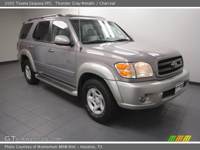 thunder gray metallic 2002 toyota sequoia sr5 charcoal. Black Bedroom Furniture Sets. Home Design Ideas