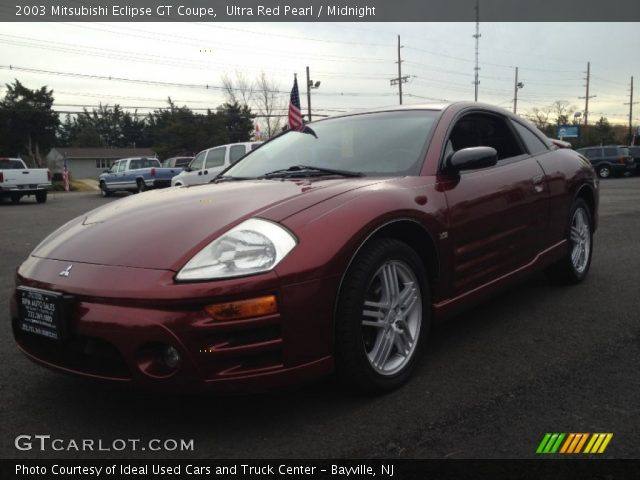 ultra red pearl 2003 mitsubishi eclipse gt coupe. Black Bedroom Furniture Sets. Home Design Ideas