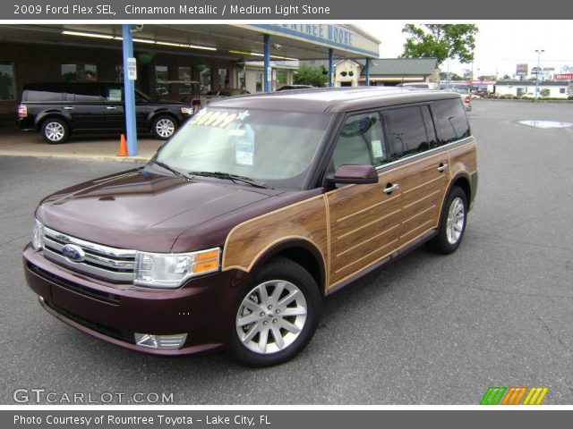 cinnamon metallic 2009 ford flex sel medium light. Black Bedroom Furniture Sets. Home Design Ideas