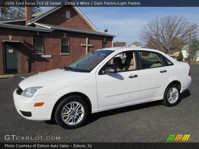 cloud 9 white 2006 ford focus zx4 se sedan dark pebble. Black Bedroom Furniture Sets. Home Design Ideas