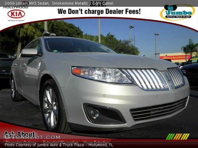 2009 Lincoln MKS Sedan in Smokestone Metallic