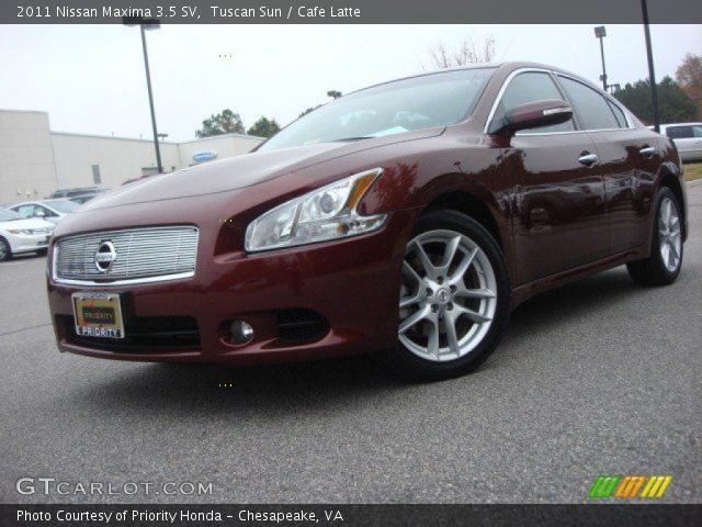 tuscan sun 2011 nissan maxima 3 5 sv cafe latte interior vehicle archive. Black Bedroom Furniture Sets. Home Design Ideas