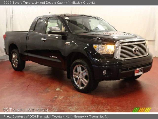 black 2012 toyota tundra limited double cab 4x4 graphite interior vehicle. Black Bedroom Furniture Sets. Home Design Ideas