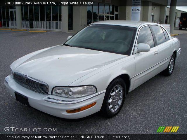 Bright White - 2000 Buick Park Avenue Ultra
