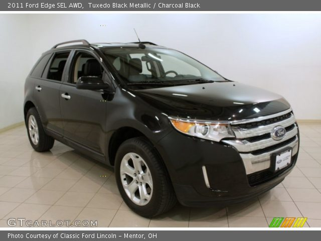 tuxedo black metallic 2011 ford edge sel awd charcoal. Black Bedroom Furniture Sets. Home Design Ideas