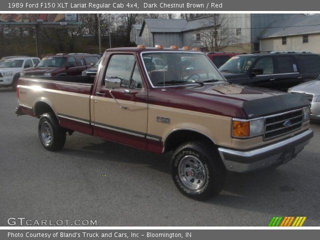 1989 Ford F150 XLT Lariat Regular Cab 4x4 in Dark Chestnut Brown