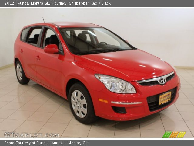 Chilipepper red 2012 hyundai elantra gls touring black - 2012 hyundai elantra exterior colors ...