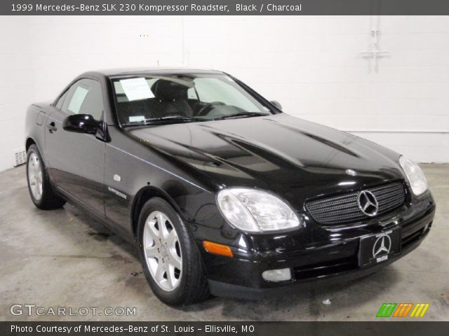 Black 1999 mercedes benz slk 230 kompressor roadster for 1999 mercedes benz slk 230 hardtop convertible