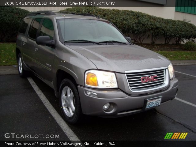 steel grey metallic 2006 gmc envoy xl slt 4x4 light. Black Bedroom Furniture Sets. Home Design Ideas