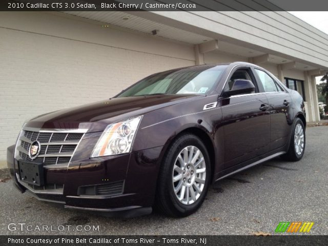 black cherry 2010 cadillac cts 3 0 sedan cashmere. Black Bedroom Furniture Sets. Home Design Ideas
