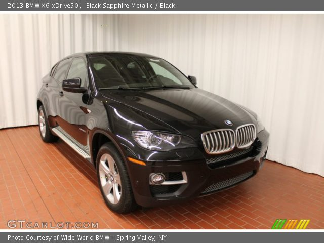 black sapphire metallic 2013 bmw x6 xdrive50i black. Black Bedroom Furniture Sets. Home Design Ideas