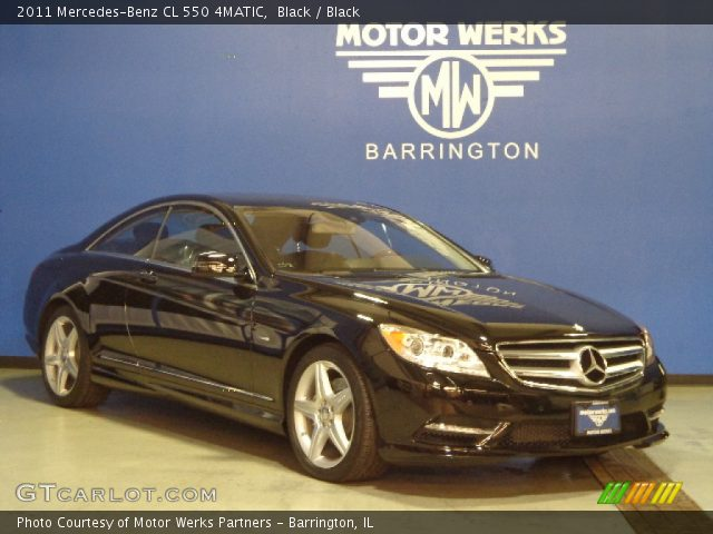 black 2011 mercedes benz cl 550 4matic black interior. Black Bedroom Furniture Sets. Home Design Ideas