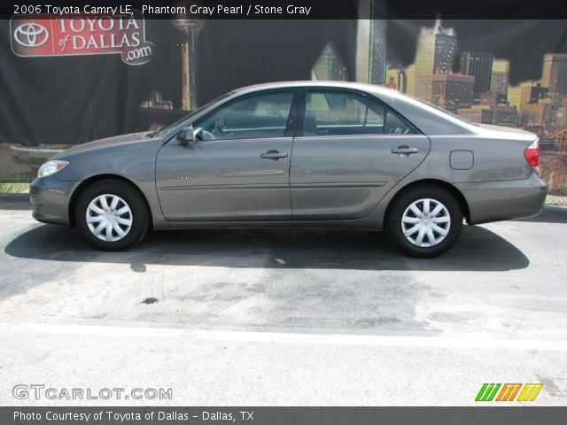 phantom gray pearl 2006 toyota camry le stone gray interior vehicle archive. Black Bedroom Furniture Sets. Home Design Ideas