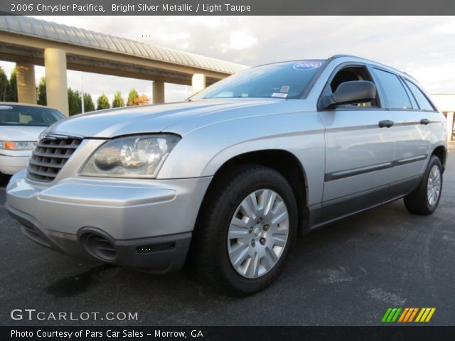 Bright Silver Metallic 2006 Chrysler Pacifica Light Taupe Interior Vehicle