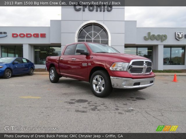 2013 Ram 1500 Big Horn Crew Cab in Deep Cherry Red Pearl