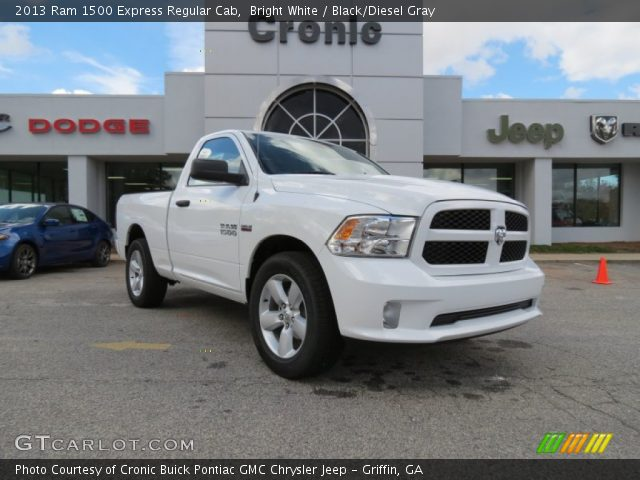 Dodge Ram 1500 2013 White 2013 Ram 1500 Express Regular