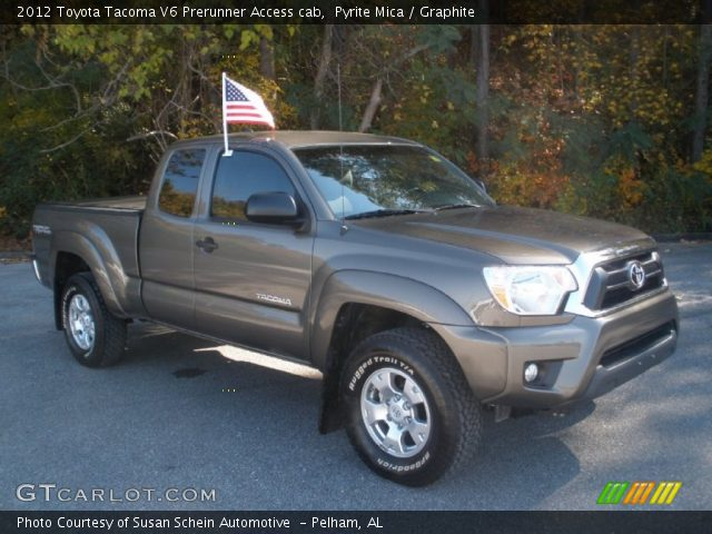 pyrite mica 2012 toyota tacoma v6 prerunner access cab graphite interior. Black Bedroom Furniture Sets. Home Design Ideas
